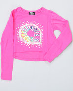 Girls L/S Amelia Tee (4-6X) Pink 6