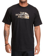 Men Camo Logo Tee Black Small