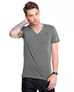 G-Star Men Knox V-Neck S/S Tee Grey Xx-Large