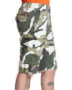 Men Cotton Rip Stop Camo Short Camo 38