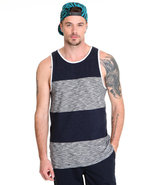 Men Jt Foil Tank Grey X-Large