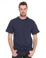 Men Nettle Tee Navy Large