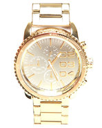 Women's Franchise 42Mm Gold Mirror Face W/ Bracele