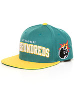 Men Player Snapback Cap Green