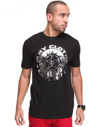 Men Buzz Saw Tee Black Medium