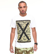 Men The Mighty X Snake Tee White X-Large