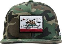 NATIVE CAMO SNAP BACK HAT