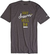 SUPER DREAM SS TEE Medium Charcoal Gray