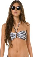 HELEN THE HUSSY BANDEAU TOP X-Small Black/White