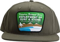 ARROWHEAD SNAP BACK HAT Olive Green