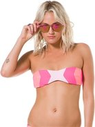 Lolli Chevron Bandeau Bikini Top Swimwear
