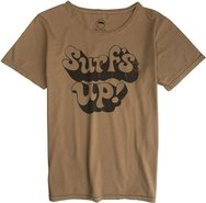 RAKE SURFS UP SS TEE X-Large Gold Yellow