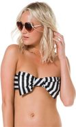 Lolli Fast As You Can Dig Bow Bandeau Bikini Top S