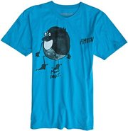 RICARDO SS TEE Large Teal Blue