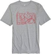 KELTY SS TEE X-Large Heather Gray