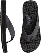 LEATHER CLOUD 9 SANDAL Charcoal Gray