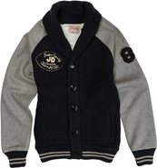 VARSITY CARDIGAN X-Large Navy Blue