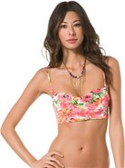 Billabong Rosie Underwire Bandeau Bikini Top Swimw