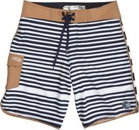 STRIKER STRIPE BOARDSHORT NAVY Navy Blue