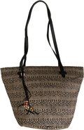 OUT TO SEA STRAW BAG Sand Beige
