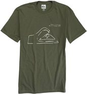 TUNE UP SS TEE Medium Sage Green