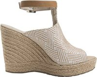 NICO WEDGE Natural White