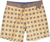 GARAGE COLLECTION T.W. COGS BOARDSHORT Mustard Yel
