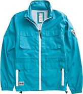 CONSPIRACY JACKET Large Teal Blue