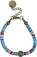 Stussy Multi Color Disc Bracelet