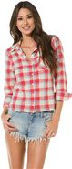 LOU LOU PLAID TOP Medium