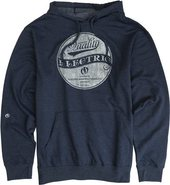 CIRCLE STANDARD PULLOVER FLEECE Large Navy Blue