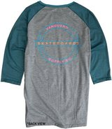 Vanguard Skate Supply Baseball Long Sleeve Tee