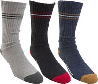 LOGO CREW SOCK 3 PACK