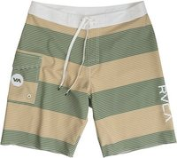 Civil Stripe 20In Boardshort Green