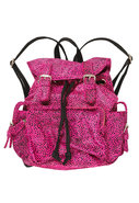 y Jeffrey Campbell King Bag in Fuschia Black Jagua