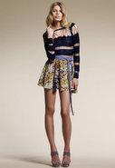 Dahlia Skirt in Floral Print