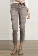 Soft Beverly Pant in Slate Grey