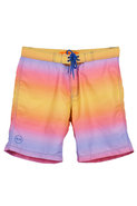 Surf Style Ombre Print Surf Style Swim Short in Su