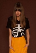 Sparkley Skeleton Sequin Surf Raglan in 2 colors