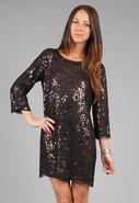 Portia Dress in Caviar