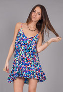 Wild One Short Dress in Confetti