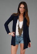 Feel the Piece Cashmere Wrap in Navy or Ivory