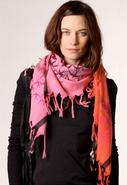 Fly Scarf in Bubblegum Red/Pink