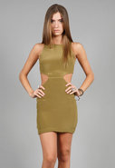 Cut Out Dress in Many Colors