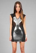 Sony© Dress in Black/Silver