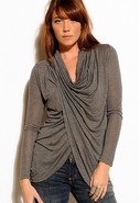 Transcendent Cowl Top in Many Colors