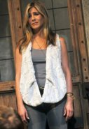 Munro Faux Fur Reversible Vest in Cream