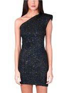 Sleeveless One Shoulder Dress in many colors