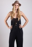 Monokini Jumpsuit in Black