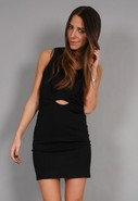 Danielle Mini Dress in Black